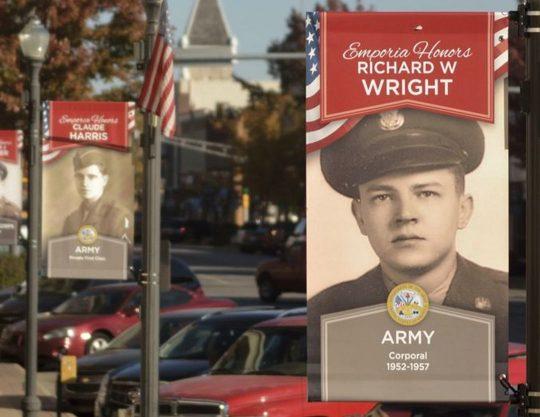 Veterans Honor Banners Kansas