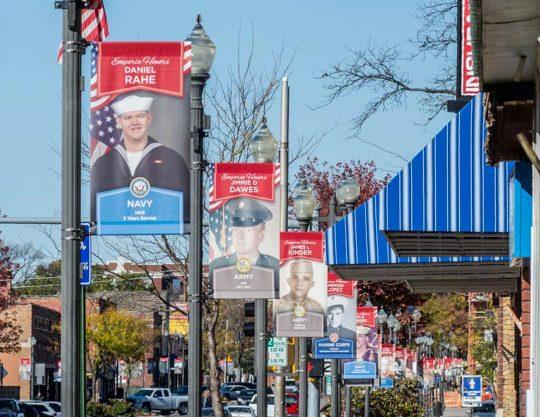 Kansas Honor Banners Veterans