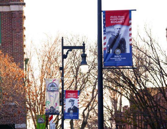 Kansas Honor Banners Veterans 1