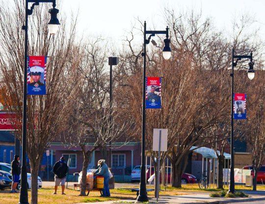 Kansas Honor Banners Veterans 2